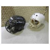 (D-2) 2 Hockey Helmets...