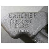 (F-0) 2 Gardner Pipe Benders ...