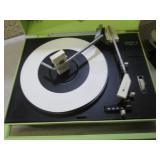 (D-3) 2 Vintage Portable Record Pla...
