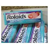 (BSB) 8 Packs of Rolaids Strawberry...