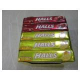 (BSB) 20 Packs of Halls Past Date...