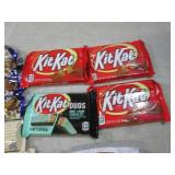 (B-2) Assorted Candy Bars Past Date...