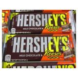 (C-1) 20 Hersheys Reeses Pieces Can...
