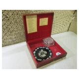(RM1) Vintage Wood Box with Content...