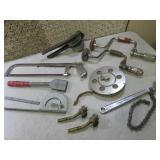 (F-0) Assorted Hand Tools Etc...