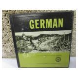 (CSB) Lot of 2 Vintage Learn German...