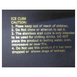 (BS) Beer Chiller Stick and Ice Cub...
