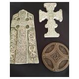 Collection of Celtic Plaques