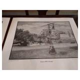 Collection of Airplane Drawing Prints
