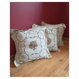 Collection Of Wall Décor And Throw Pillows