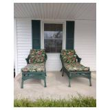 Two Patio Chairs With Cushion
