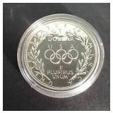 1988 U.S. Proof Olympic Silver Dollar