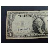 1935 E $1.00 Silver Certificate *Star* Note