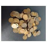 100 Wheat Pennies