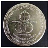 1972 Universaro Silver Round
