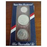 1976 Bicentennial Silver Uncirculated Set