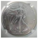 2014 American Silver Eagle (Early Releases) - MS69