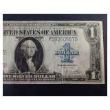 "1923 $1 Silver Certificate ""Horse Blanket"""