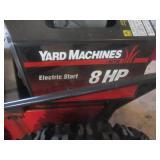 Yard Machine Snowblower