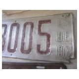 Antique License Plates
