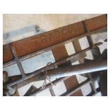 Vintage Stove Frame, Kettles