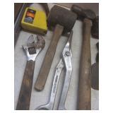 Pry Bars, Hammer, Tin Snips