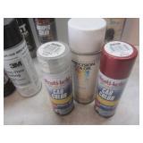 Spray Paint, Auto Fluids