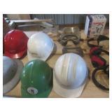 Safety Helmet, Glasses