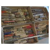 Screwdrivers, Cold Chisels