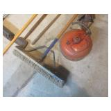 Shop Floor Cleaning Tool, Gas Can