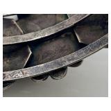 "Set Signed Native American Sterling Silver Bracelet & Ring ""T. Feigal"""
