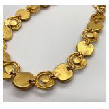 Anne Klein Couture Gold Tone Vintage Necklace