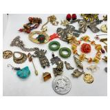 Funky Fun Assorted Vintage Jewelry Lot