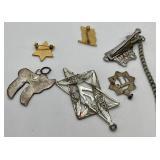 Vintage Judaica Assorted Jewelry Lot