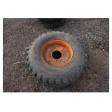 Firestone All Traction 14 x 17.5 Skid Loader Tire On 8 Bolt Rim
