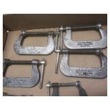 "C-clamps: Cincinnati Tool Co 1-1/4""..."