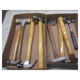 Hammers with ball peen, mallet, cla...