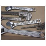 Diamond Caulk adjustable wrenches 8...