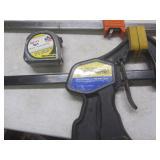Jorgensen bar clamps: 3724, 3718, 3...