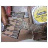 Tools: dressing wheel, screwdrivers...