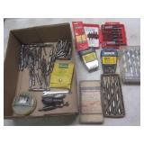 Drill bits, wood bits,  driver bits...
