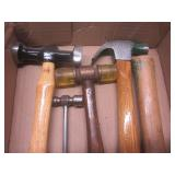 Hammer with silicone mallet...