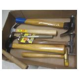 Hammers with Samson & Plumb claw, b...
