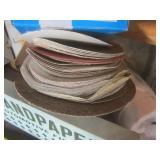 Sand paper: various grits, 3M shelf...