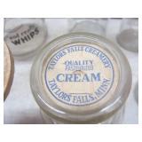 Antique cream top milk bottle - Mar...