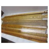 Advertising rulers 3-4ft, Implement...
