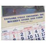 Local advertising: 1951 Taylors Fal...