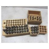 Metal stamps: letters, numbers - tw...