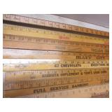 """Advertising rulers: 36"""" with auto, ..."""