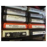 Vintage 8-track tapes, qty 75...